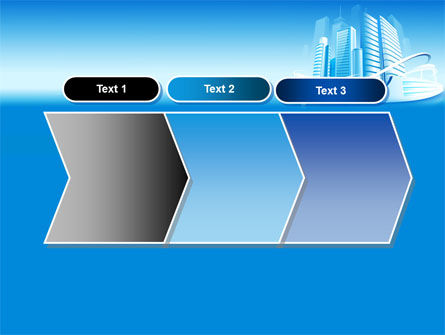 Blue City PowerPoint Template Slide 16