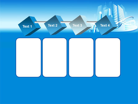 Blue City PowerPoint Template Slide 18