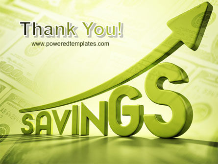 Rise Of Savings PowerPoint Template Slide 20