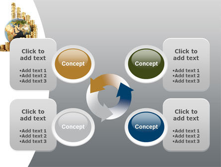 World Financial Reserves PowerPoint Template Slide 9