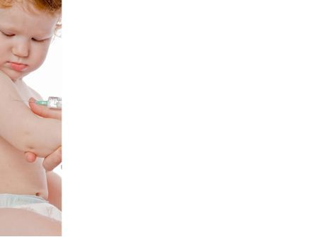 Childhood Vaccination PowerPoint Template, Slide 3, 09934, Medical — PoweredTemplate.com