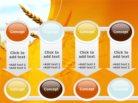 Golden Ear Of The Wheat PowerPoint Template Slide 18