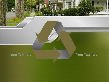 Suburban Lane PowerPoint Template Slide 10
