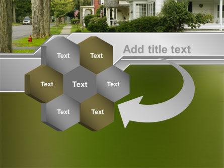 Suburban Lane PowerPoint Template Slide 11