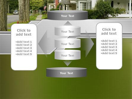 Suburban Lane PowerPoint Template Slide 13