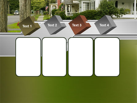 Suburban Lane PowerPoint Template Slide 18