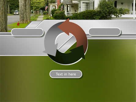 Suburban Lane PowerPoint Template Slide 9