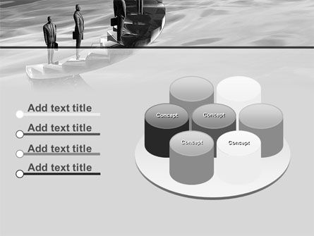 Winding Staircase Of Career PowerPoint Template Slide 12