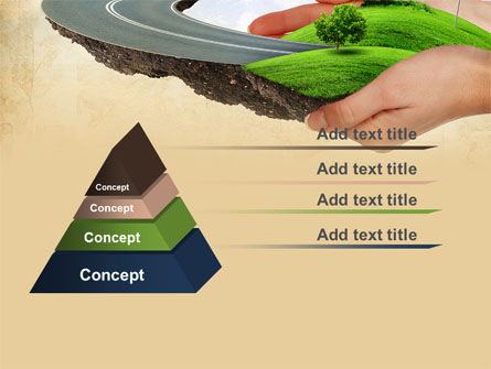 Road To The Beautiful City PowerPoint Template Slide 12