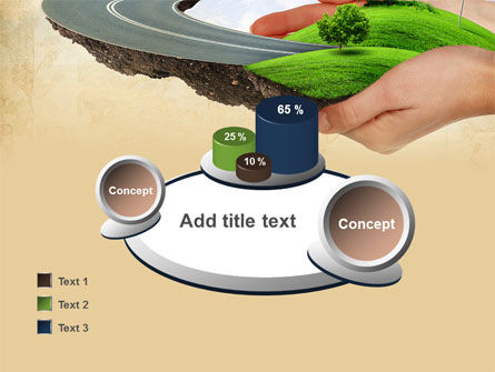 Road To The Beautiful City PowerPoint Template Slide 16