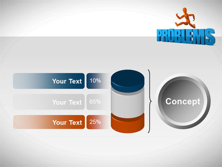 Jumping Over Problems PowerPoint Template Slide 11