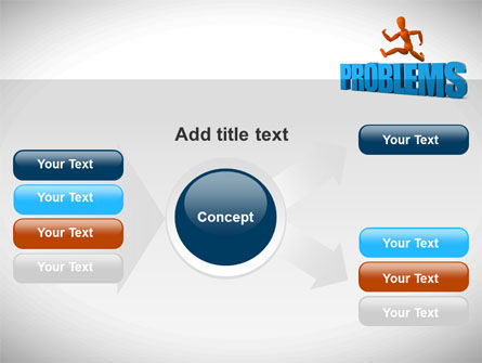 Jumping Over Problems PowerPoint Template Slide 14