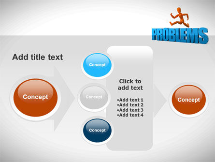 Jumping Over Problems PowerPoint Template Slide 17