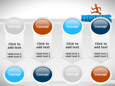 Jumping Over Problems PowerPoint Template Slide 18