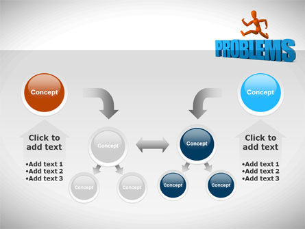 Jumping Over Problems PowerPoint Template Slide 19