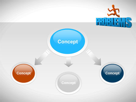 Jumping Over Problems PowerPoint Template, Slide 4, 09941, Consulting — PoweredTemplate.com