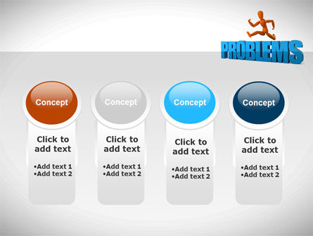 Jumping Over Problems PowerPoint Template Slide 5