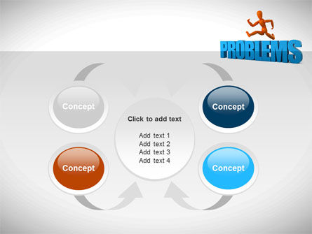 Jumping Over Problems PowerPoint Template Slide 6