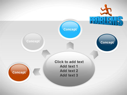 Jumping Over Problems PowerPoint Template Slide 7