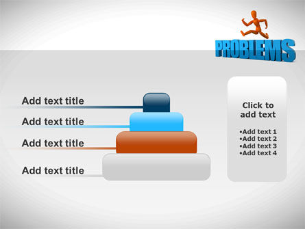 Jumping Over Problems PowerPoint Template Slide 8