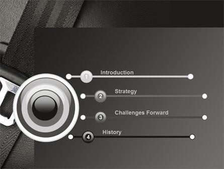 Seat Belt PowerPoint Template, Slide 3, 09942, Cars and Transportation — PoweredTemplate.com