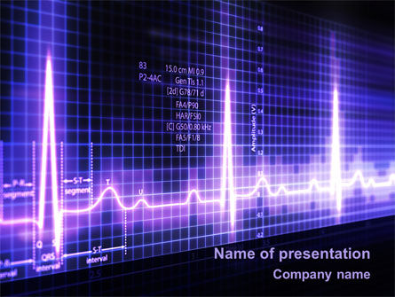 Medical: Analysis Of Oscilloscope Traces PowerPoint Template #09943