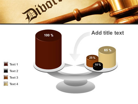 Divorce Decree With Gavel PowerPoint Template Slide 10