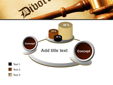 Divorce Decree With Gavel PowerPoint Template Slide 16
