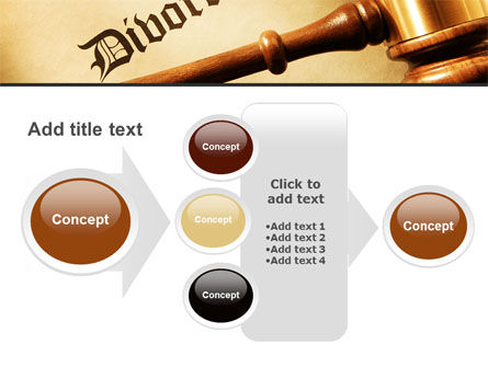 Divorce Decree With Gavel PowerPoint Template Slide 17