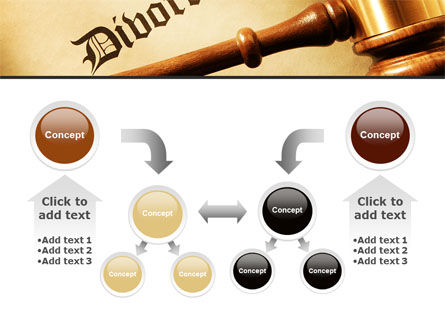Divorce Decree With Gavel PowerPoint Template Slide 19
