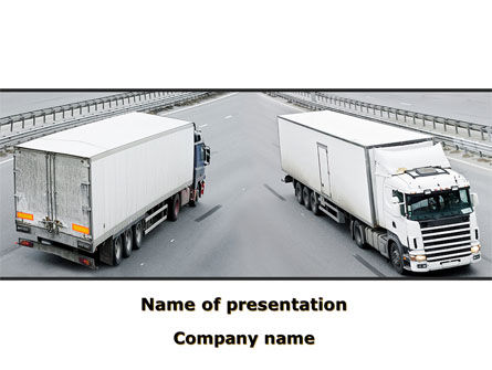 Cargo Traffic PowerPoint Template