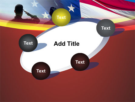 Saluting Flag Of The United States PowerPoint Template Slide 14