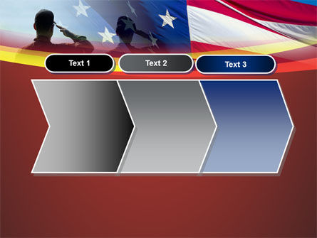 Saluting Flag Of The United States PowerPoint Template Slide 16