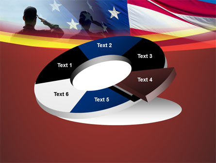 Saluting Flag Of The United States PowerPoint Template Slide 19