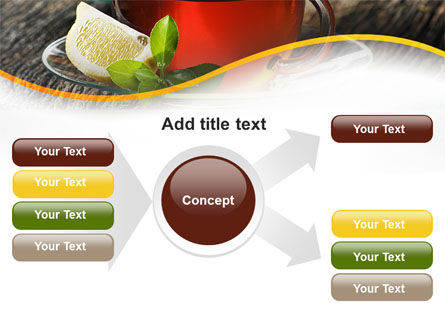 Two Cups Of Tea PowerPoint Template Slide 14