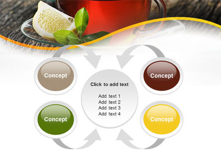 Two Cups Of Tea PowerPoint Template Slide 6