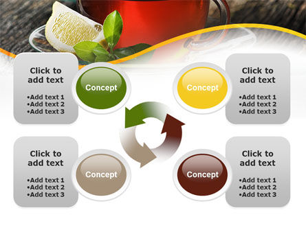 Two Cups Of Tea PowerPoint Template Slide 9