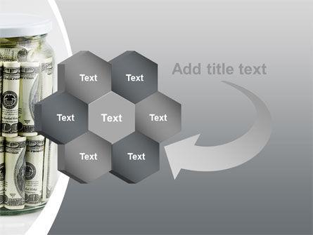 Glass Jar Full Of Dollars PowerPoint Template Slide 11