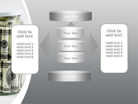 Glass Jar Full Of Dollars PowerPoint Template Slide 13