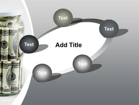 Glass Jar Full Of Dollars PowerPoint Template Slide 14