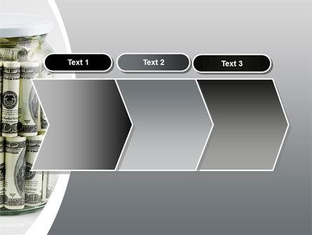 Glass Jar Full Of Dollars PowerPoint Template Slide 16