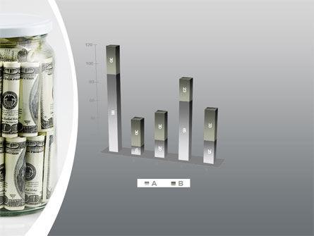 Glass Jar Full Of Dollars PowerPoint Template Slide 17
