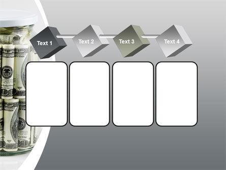 Glass Jar Full Of Dollars PowerPoint Template Slide 18