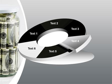 Glass Jar Full Of Dollars PowerPoint Template Slide 19