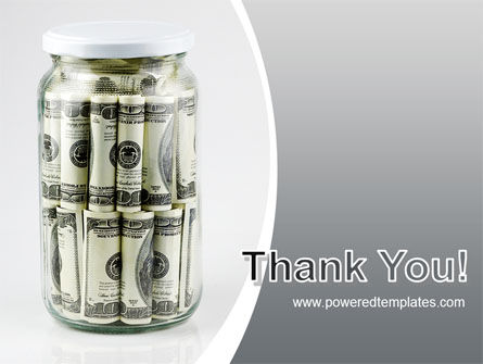Glass Jar Full Of Dollars PowerPoint Template Slide 20