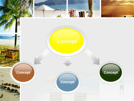 Beach Fun PowerPoint Template, Slide 4, 09954, Health and Recreation — PoweredTemplate.com