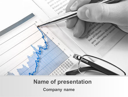 Analysis Of Market Trends PowerPoint Template, 09956, Financial/Accounting — PoweredTemplate.com