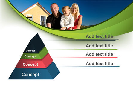 Townhouse of Happy Family PowerPoint Template Slide 12