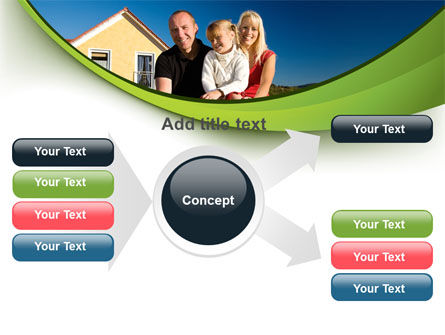 Townhouse of Happy Family PowerPoint Template Slide 14