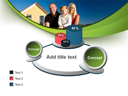 Townhouse of Happy Family PowerPoint Template Slide 16